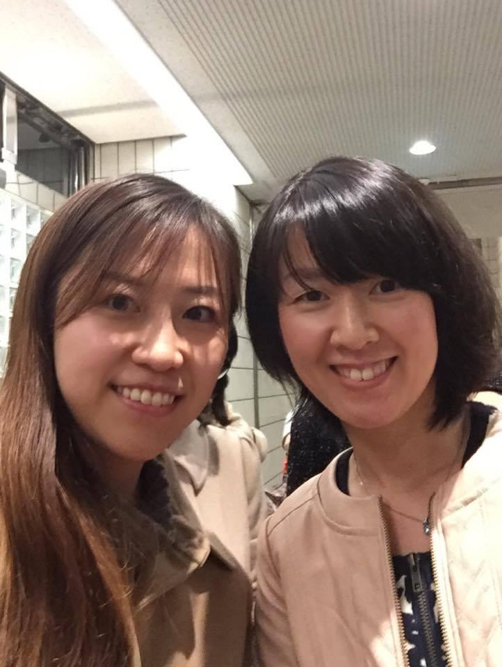 真紀子さんと私